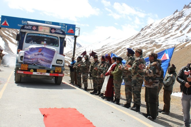 Manali-Leh highway opens to traffic