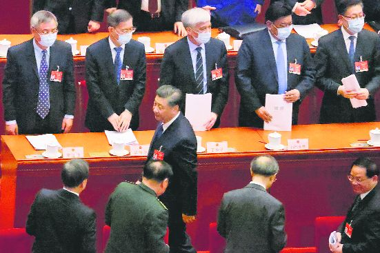 Xi trying to blend race, party and nation