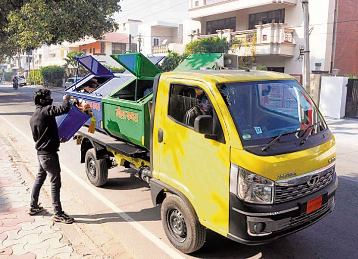 Change of plan — Now, waste-lifting vehicles for 12 more sectors only