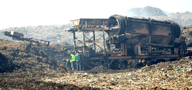 Major fire breaks out at Bhagtanwala dump yard