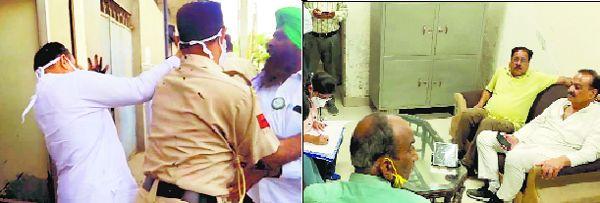 Assault on Arun Narang: BJP blames Cong, demands President's rule