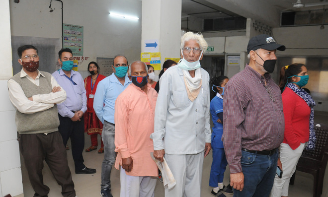Jalandhar district's 85 elderly inoculated on Day 1