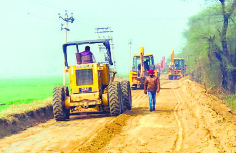 Work on international airport at Halwara picks up pace