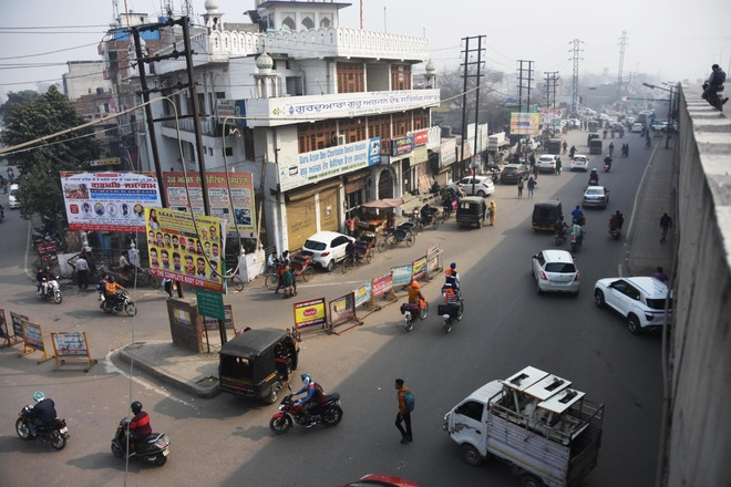 Need to segregate traffic flow at Ludhiana's Samrala Chowk