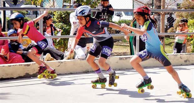 Covid norms go for a toss at roller skating championship in Patiala