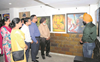 Paintings at art exhibition in Amritsar mesmerise visitors