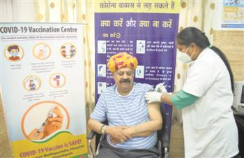 Hope floats as elderly get a shot in the arm
