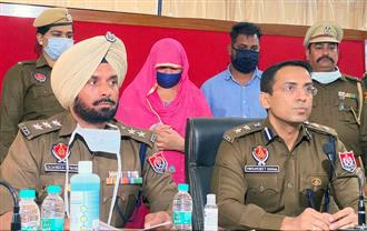 Patiala woman, paramour held for murder of her 2 children
