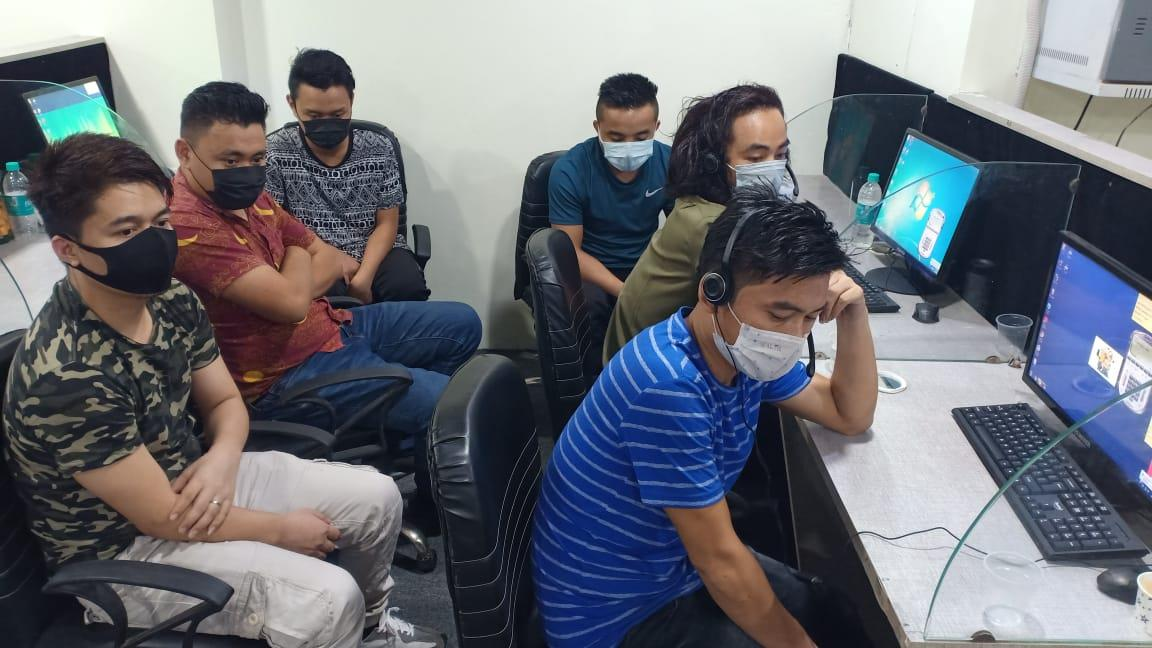 Fake call centre busted in Gurugram