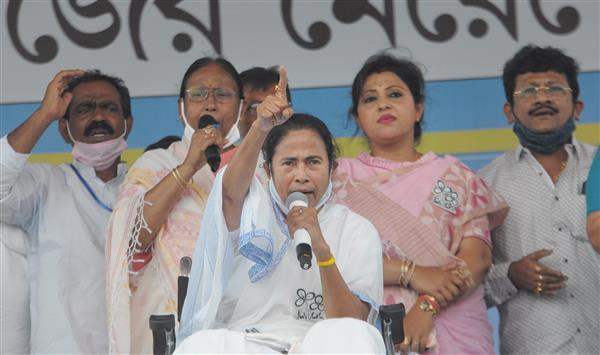 Bengal elections: EC bars CM Mamata Banerjee from campaigning for 24 hours