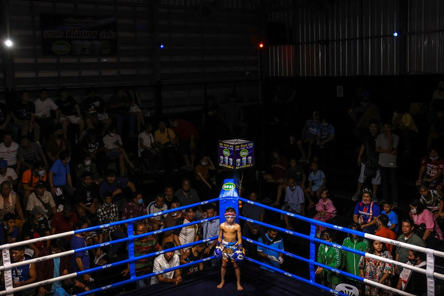 Despite risks, 9-year-old Thai fighter eager to return to ring