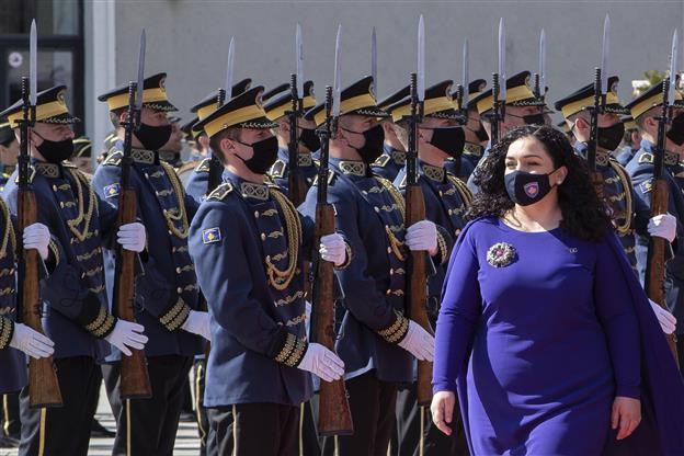 Kosovo's 38-year-old president takes office