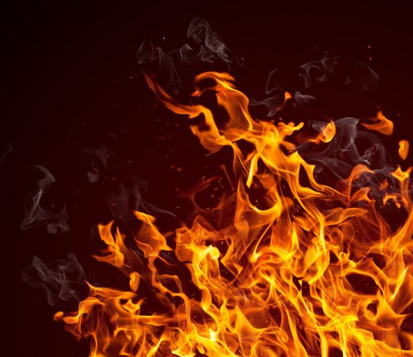 28 shops gutted after fire breaks out at market in J-K's Baramulla