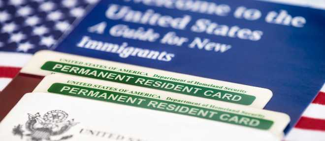 Indian-American frontline health-care professionals in Green Card backlog hold protest at US Capitol