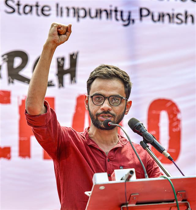 2020 Delhi riots: Court grants bail to Umar Khalid