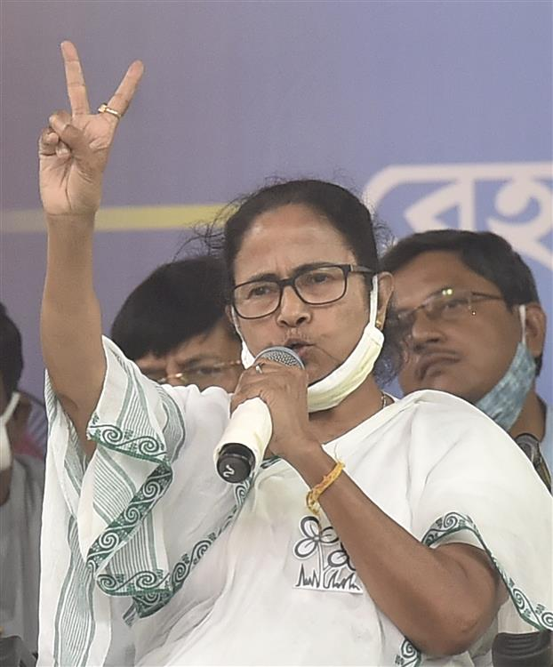 Mamata demands Union Home Minister's resignation over central forces firing killing 4 during polling