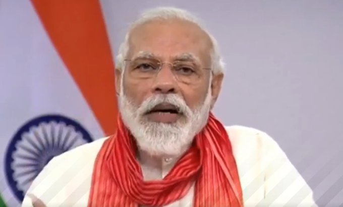 PM Modi wishes people on Ram Navami, asks people to follow COVID guidelines
