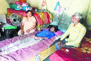 100% disabled Patiala youth gets a mere Rs 750 per month