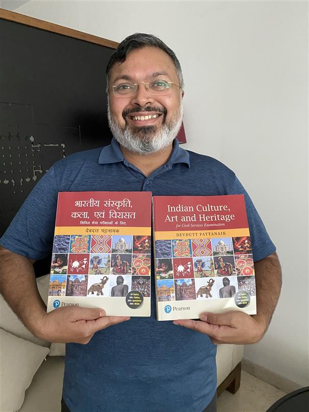 Mythologist Devdutt Pattanaik lends a hand to civil service aspirants