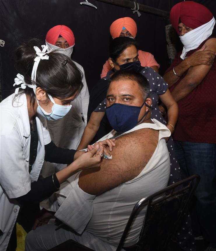 Chandigarh slow on HCW vaccine coverage