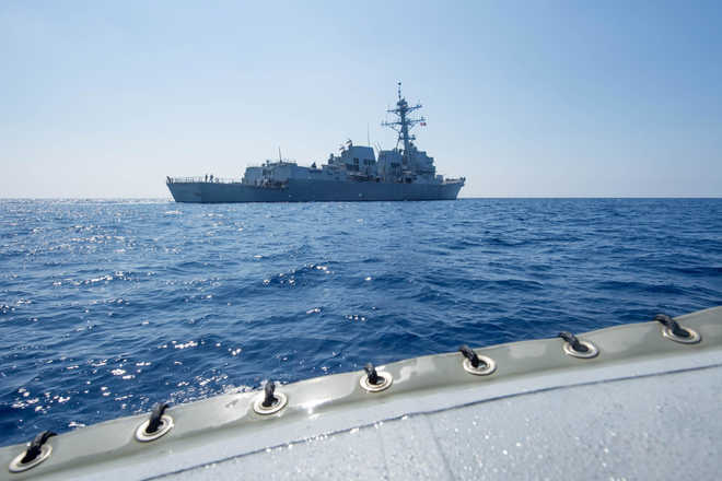 US sail unlikely to raise diplomatic heat