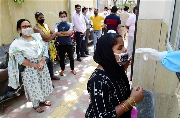 Delhi records 10,732 COVID cases, highest single-day spike so far