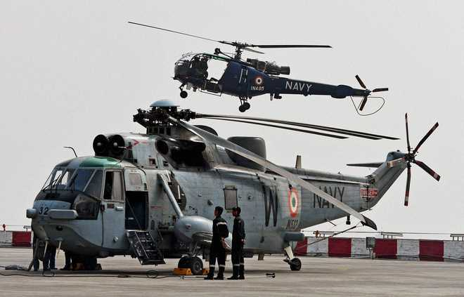 Indian Navy starts process to take 24 naval utility helicopters on lease