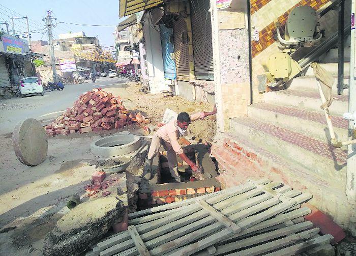 Pending civil works irk residents