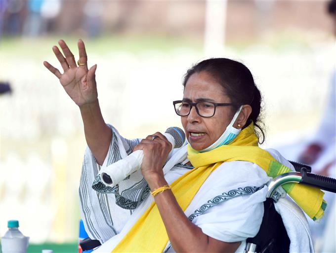 'Not your party member': Mamata hits back at Modi over 'another seat' jibe