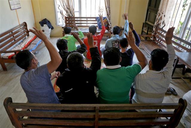 14 lawmakers among more than 2,200 Myanmar nationals taking refuge in Mizoram