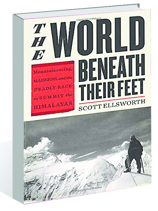 'The World Beneath Their Feet': A narrative of conquering of the Himalayas