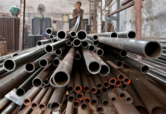 Core sectors' output up 6.8 per cent in March due to base effect; contracts 7 per cent in 2020-21