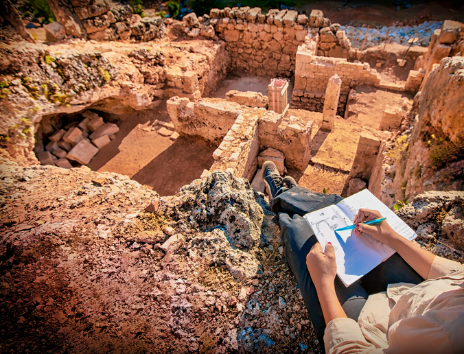 Are there any entrance tests for archaeology courses?