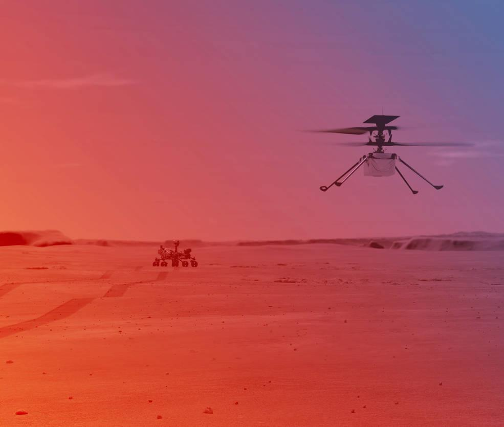 NASA's Ingenuity helicopter touches down on Red Planet