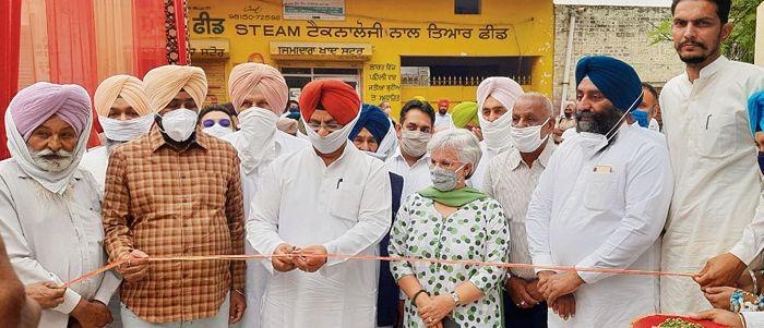 Nagra inaugurates sub-tehsil building in Fatehgarh Sahib