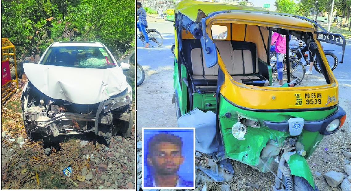Another teen at wheel in car crash; auto driver dies