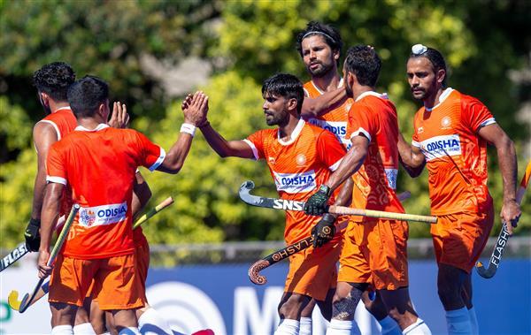 India off to winning start