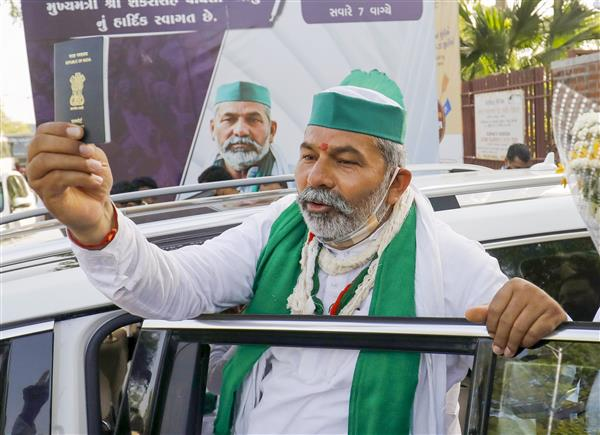 Farmers ready to talk if govt invites, but no change in demands: Rakesh Tikait