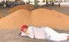 Deserted mandis in Punjab on Day 1