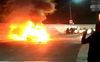 Car catches fire in Patiala, passengers escape unhurt