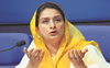 Bathinda MP Harsimrat Kaur Badal tests Covid positive