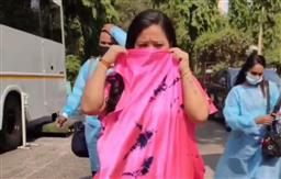 Bharti Singh snaps at man, says 'mask lagaiye', realises she is not wearing it, but he is; watch hilarious video