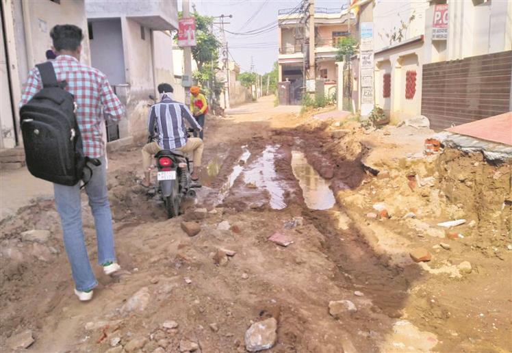 Colony at Karheri village  to get sewer connections