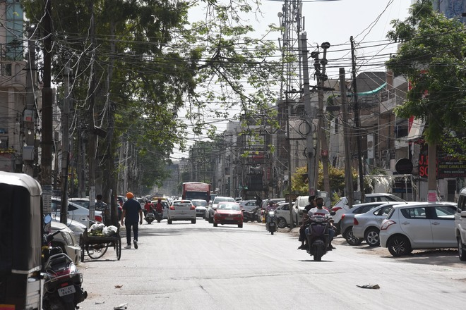No check on commercial activities in residential areas