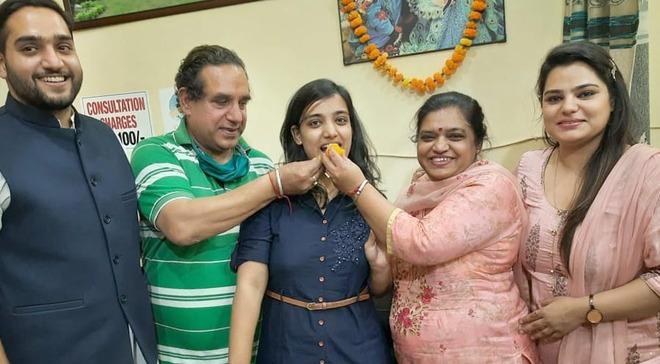 Nawanshahr girl tops UP civil services exam