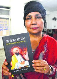 Book on life of ninth Sikh Guru