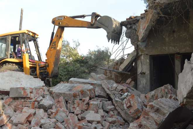 Encroachments removed in Jalandhar's Qazi Mandi, plot owners to get possession soon