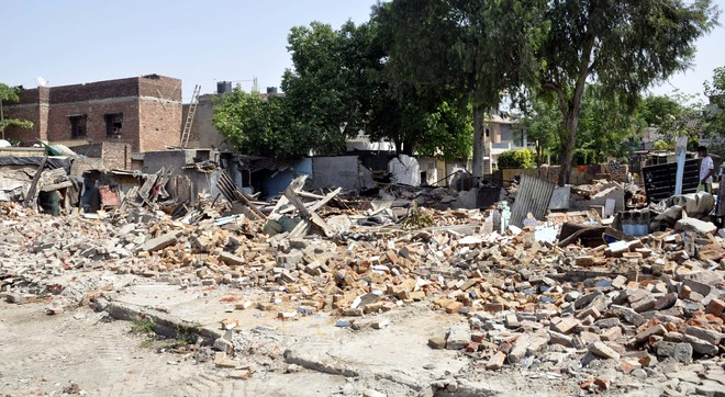 25 encroachments removed in Ludhiana's New Model Town