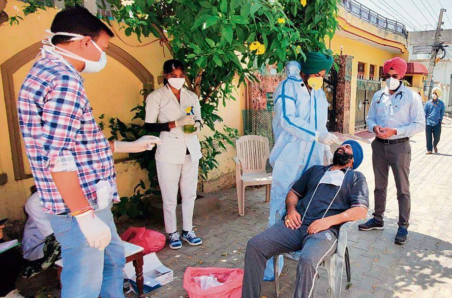 Covid surge continues, Patiala records 581 cases