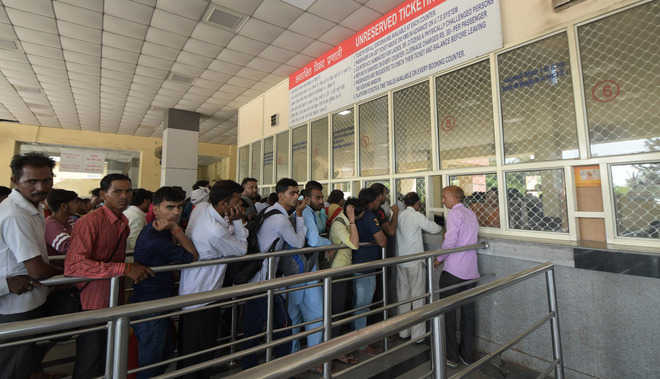 Rail counters at Chandigarh shut as eight staffers test +ve for Covid-19